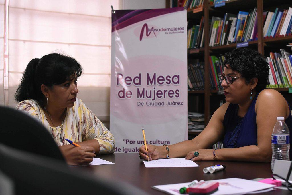 En la red se preparan estrategias que garanticen una vida libre de violencia y acceso a la justicia a las mujeres. Foto: Rey R. Jáuregui